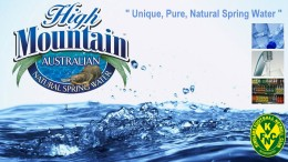 High Mountain Spring Water